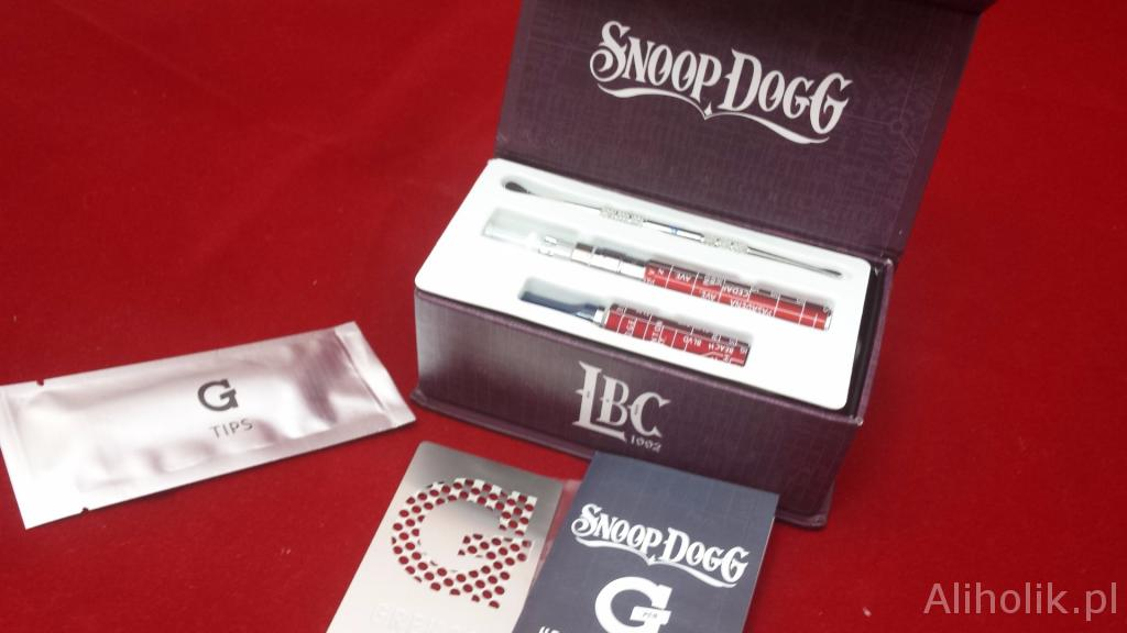 snoop dogg vaporizer z aliexpress pudełko