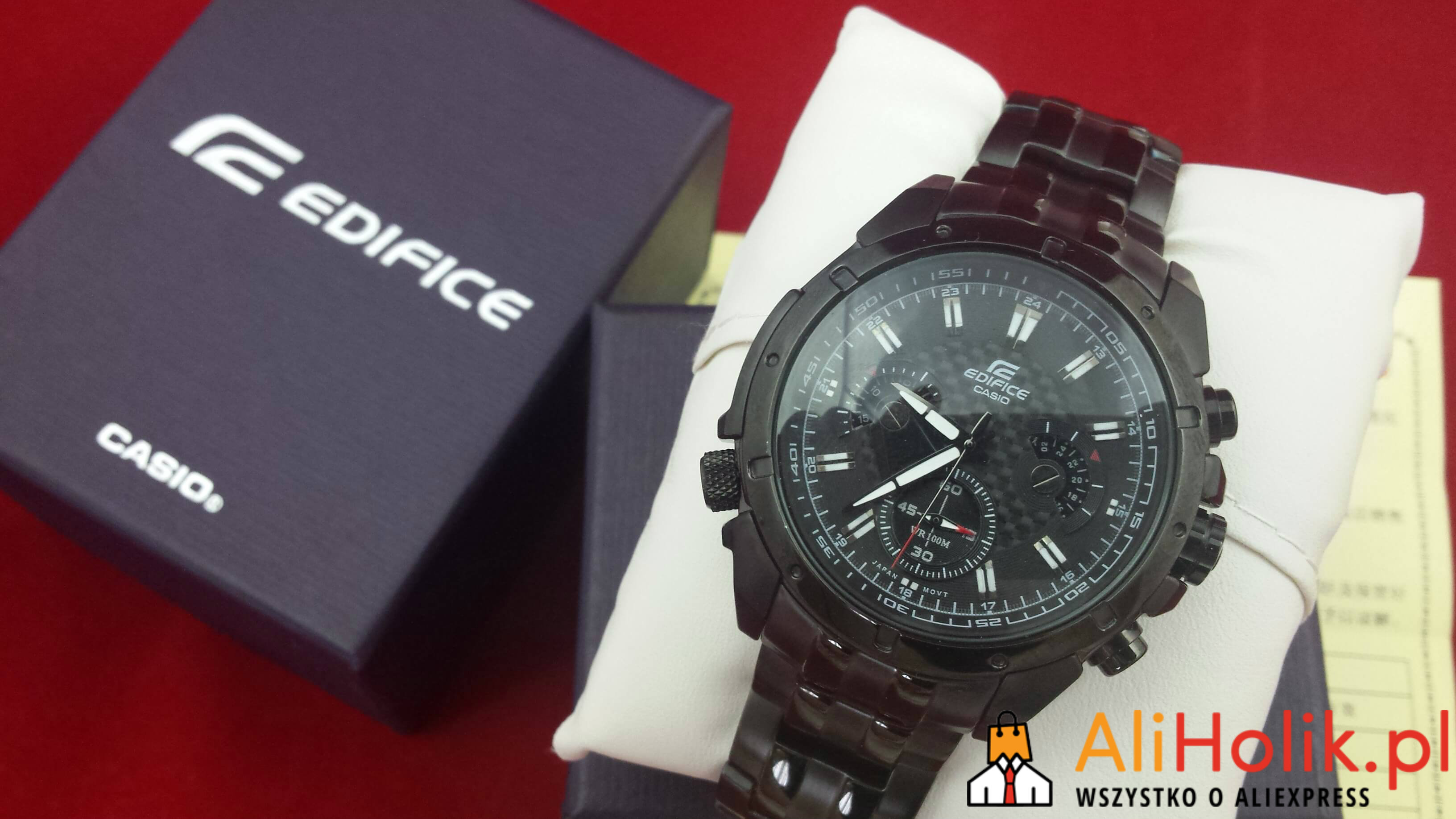 Zegarek Casio Edifice z Aliexpress